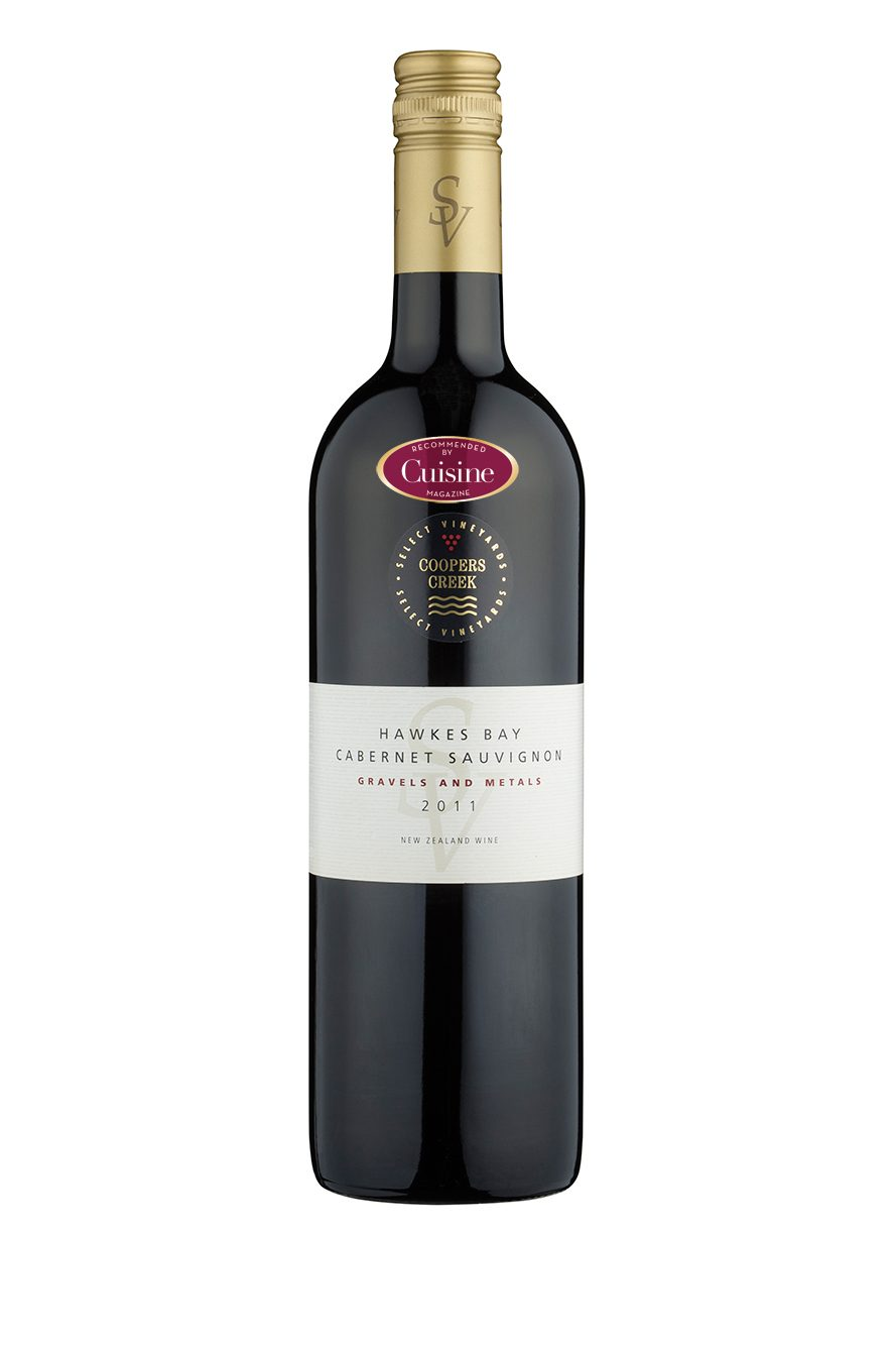 Coopers Creek SV Hawke's Bay Cabernet Sauvignon Gravels and Metal 2011