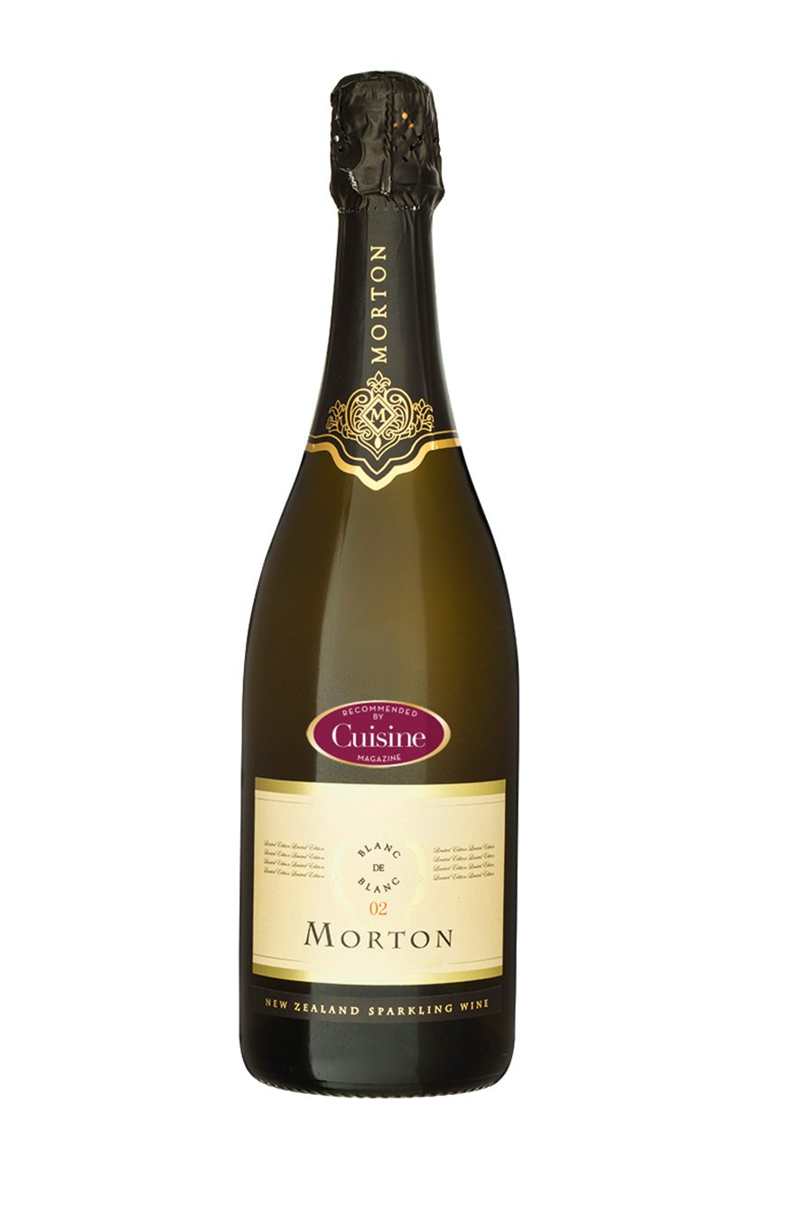 Morton Blanc de Blanc Methode Traditionnelle 2002