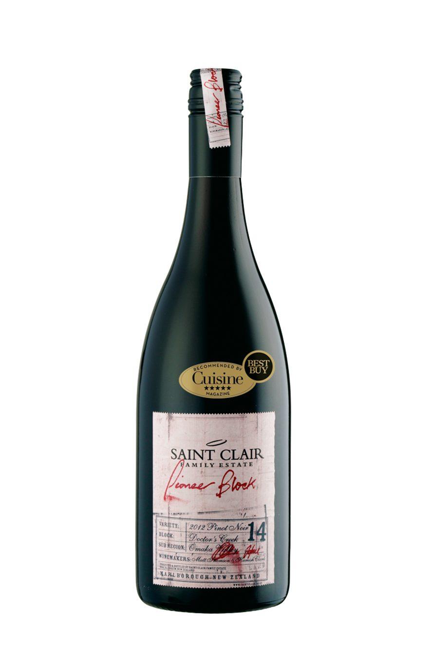 Saint Clair Pioneer Block 14 Doctor's Creek Pinot Noir 2012