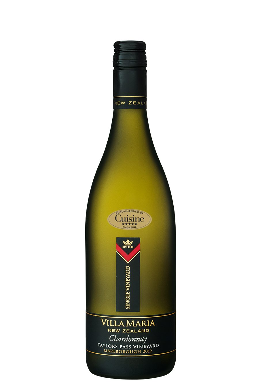 Villa Maria Single Vineyard Taylors Pass Marlborough Chardonnay 2012