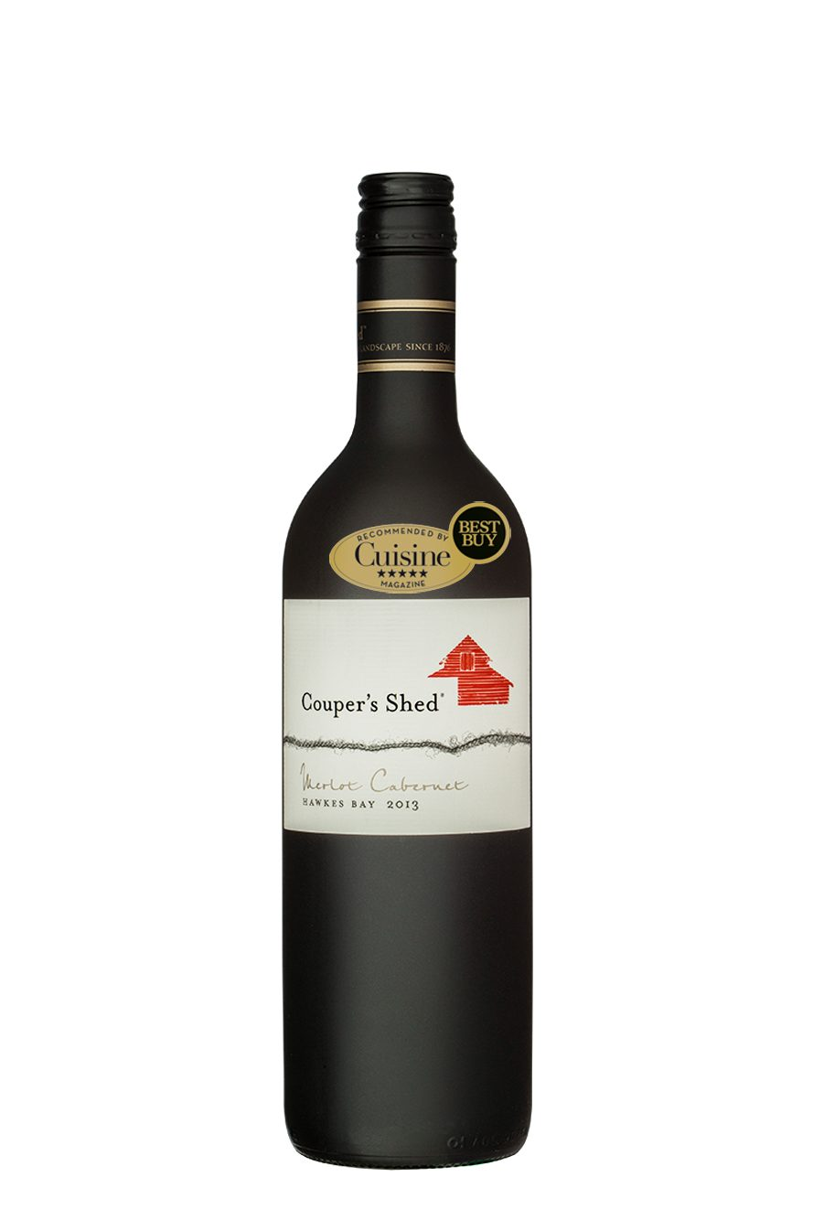 Couper's Shed Hawke's Bay Merlot Cabernet 2013