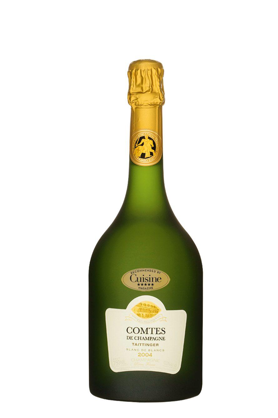 Taittinger comtes de champagne blanc de blancs brut 2004 for Belle jardin blanc de blancs