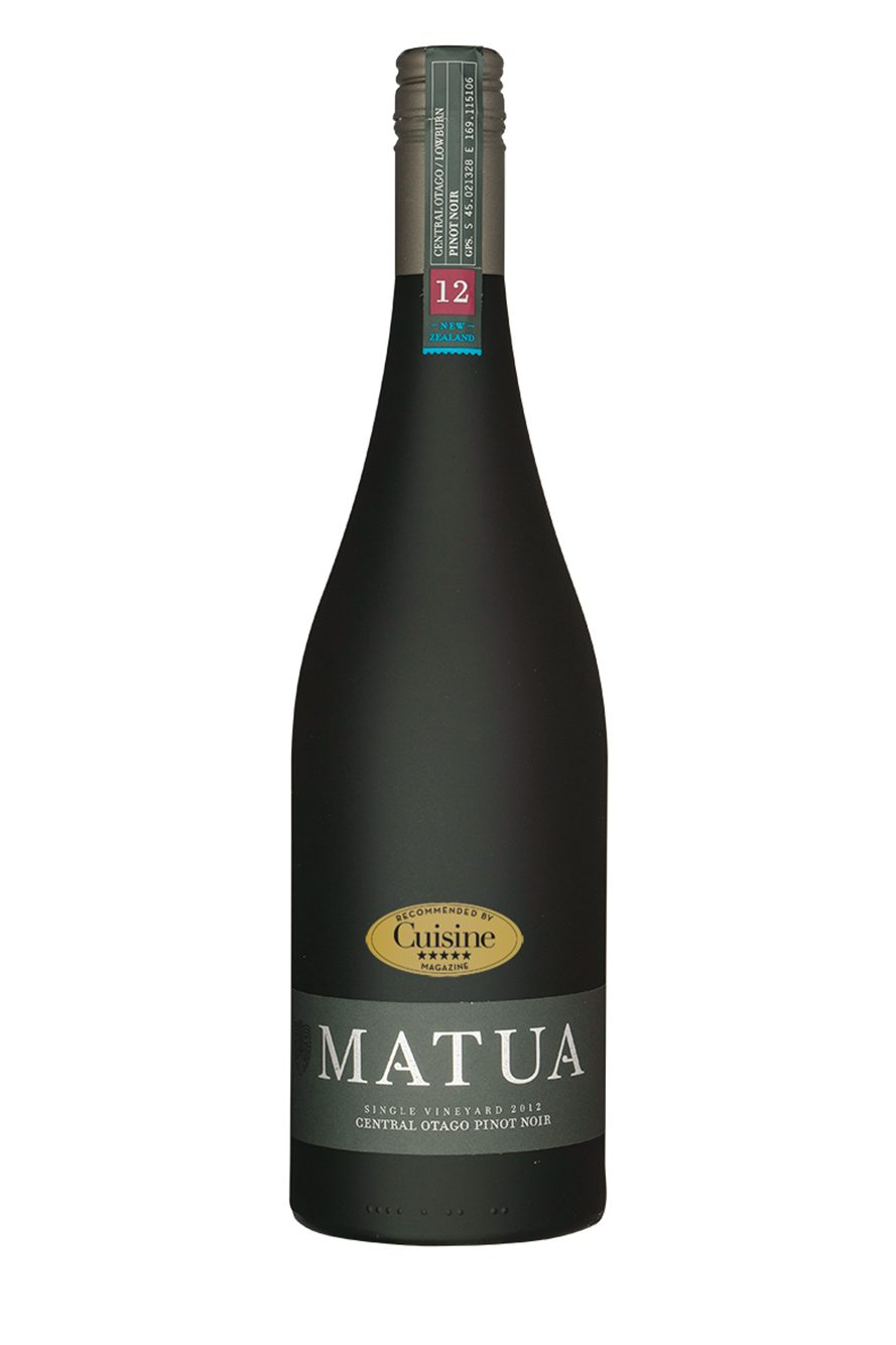 Matua Single Vineyard Lowburn Pinot Noir 2012