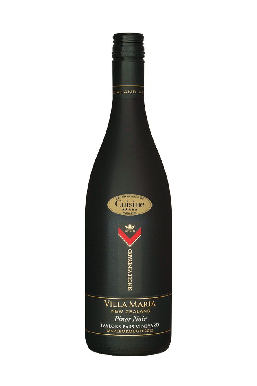 Villa Maria Single Vineyard Taylors Pass Pinot Noir 2012