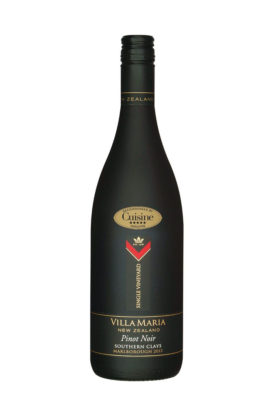 Villa Maria Single Vineyard Southern Clays Pinot Noir 2012