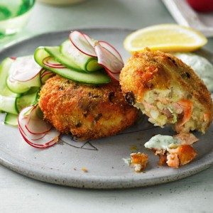 salmon cakes with moroccan salmon cakes with garlic mayonnaise recipes ...