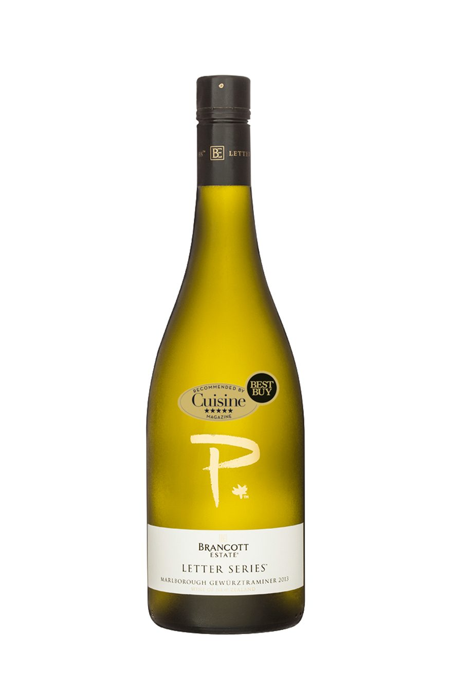 BRANCOTT ESTATE LETTER SERIES P MARLBOROUGH GEWURZTRAMINER 2013