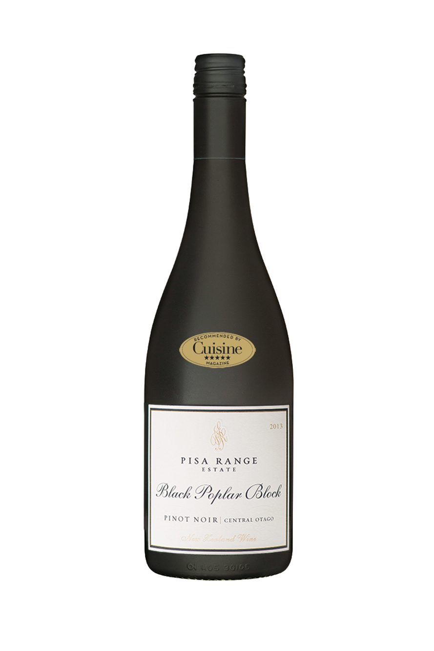 Pisa Range Estate Black Poplar Block Pinot Noir 2013