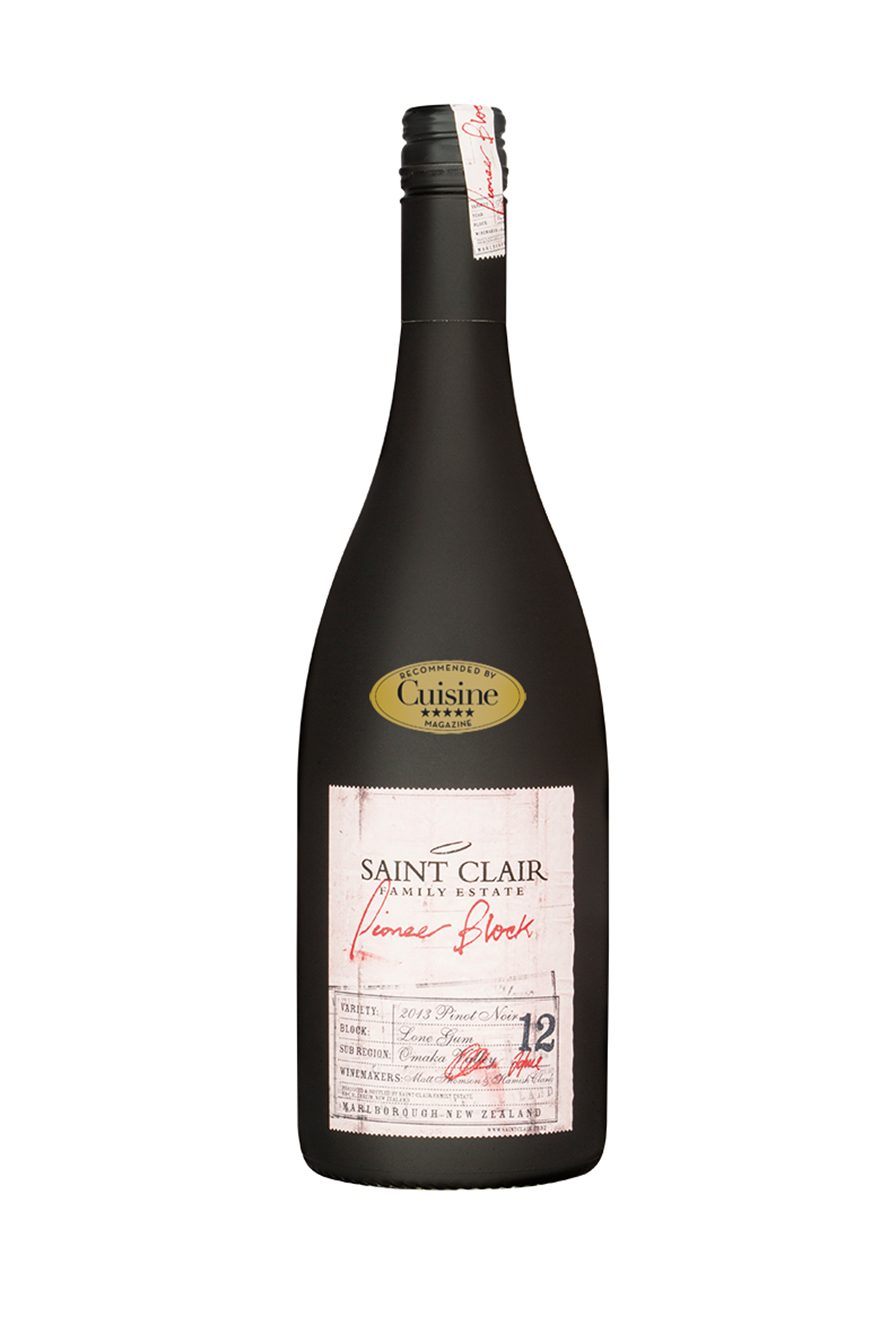 Saint Clair Pioneer Block 12 Lone Gum Pinot Noir 2013