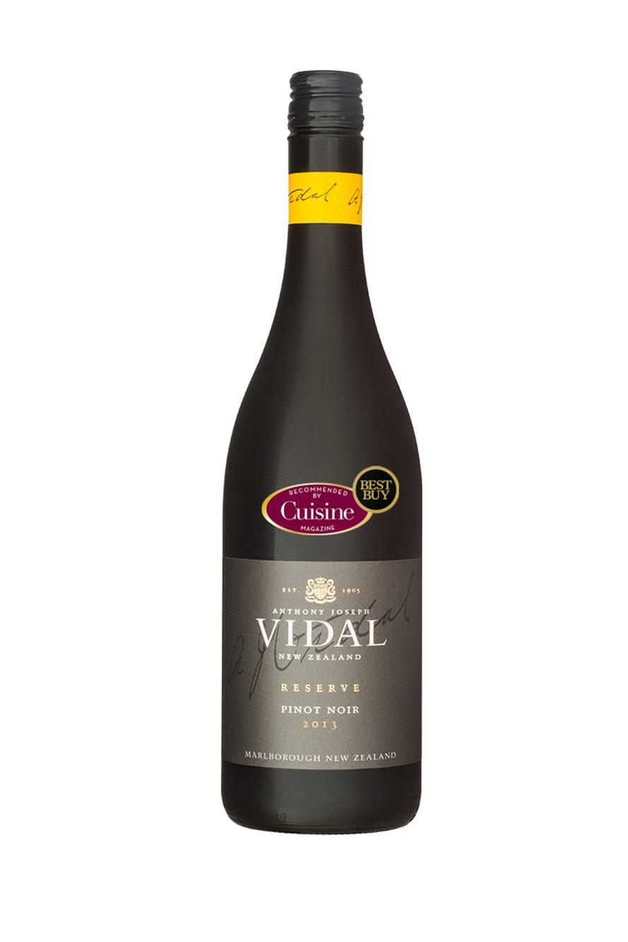 Vidal Reserve Pinot Noir 2013