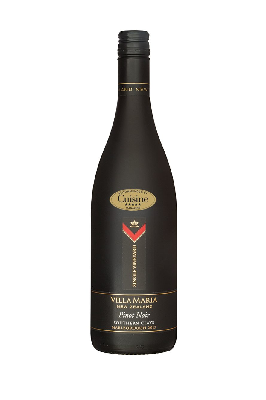Villa Maria Single Vineyard Southern Clays Pinot Noir 2013