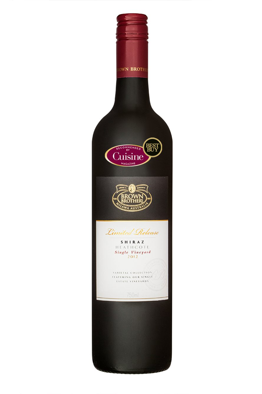 Brown Brothers Limited Release Heathcote Shiraz 2012