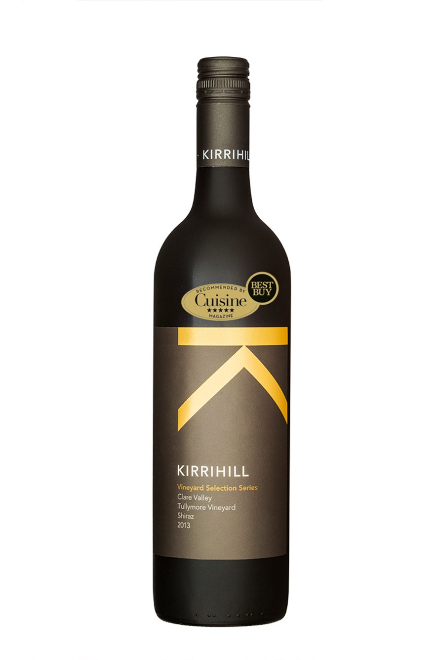 Kirrihill Vineyard Selection Series Clare Valley Tullymore Vineyard Shiraz 2013