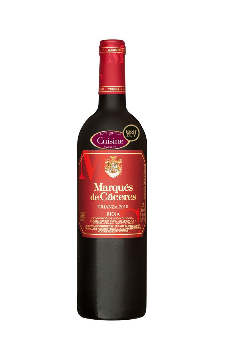 Marqu s de c ceres rioja crianza 2010 cuisine wine for Cuisine wine