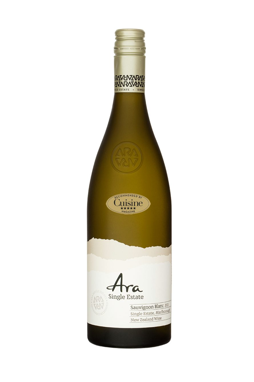 Ara Single Estate Sauvignon Blanc 2015 (Marlborough)