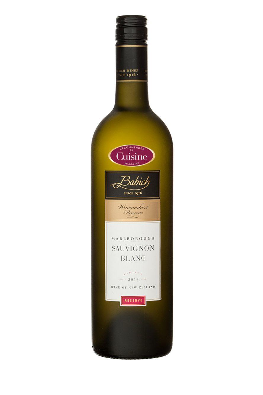 Babich Winemakers' Reserve Sauvignon Blanc 2014 (Marlborough)