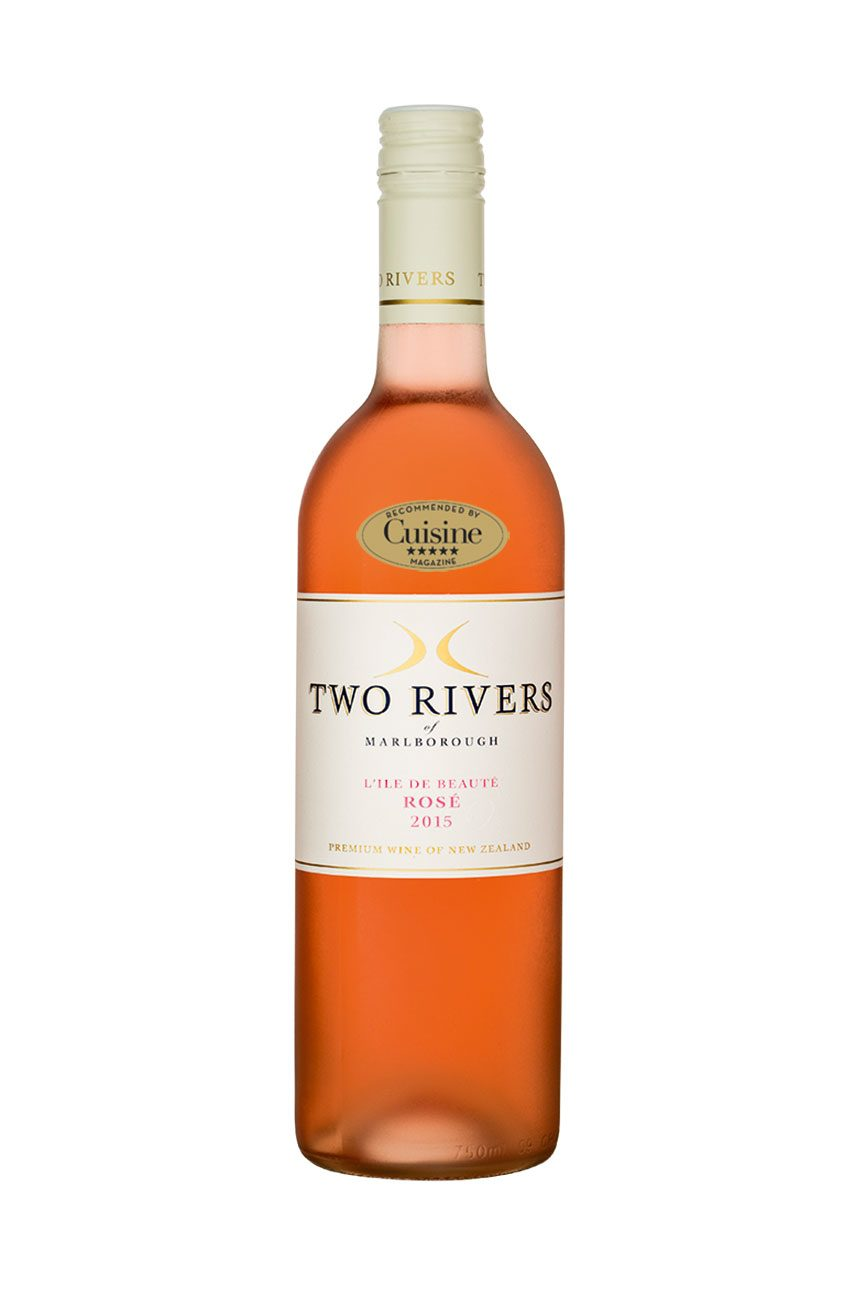 Two Rivers of Marlborough L'Ile de Beauté Rosé 2015