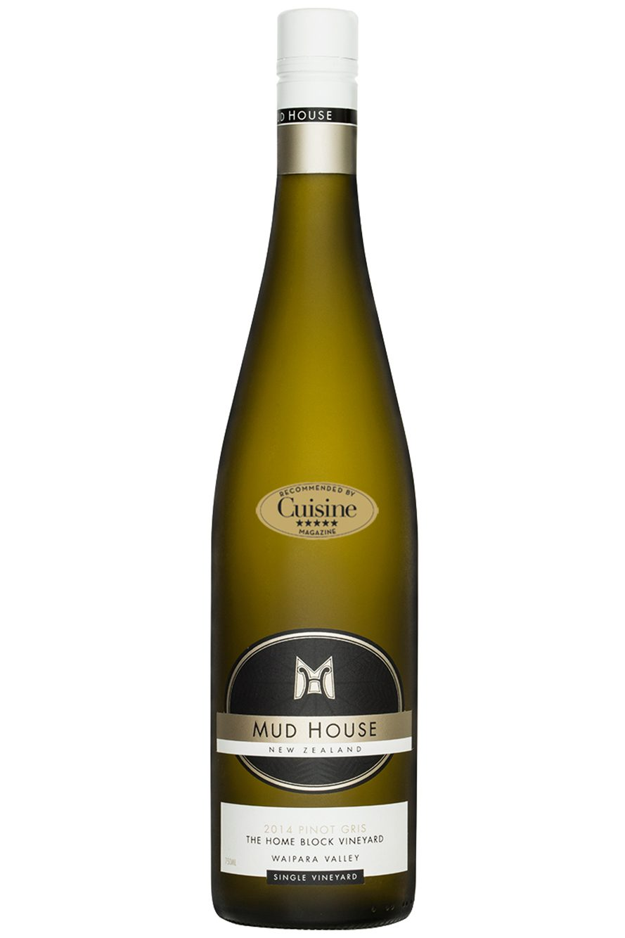 Mud House Single Vineyard Home Block Waipara Valley Pinot Gris 2014