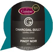 Charcoal Gully Sallys Pinch Central Otago Pinot Noir 2014