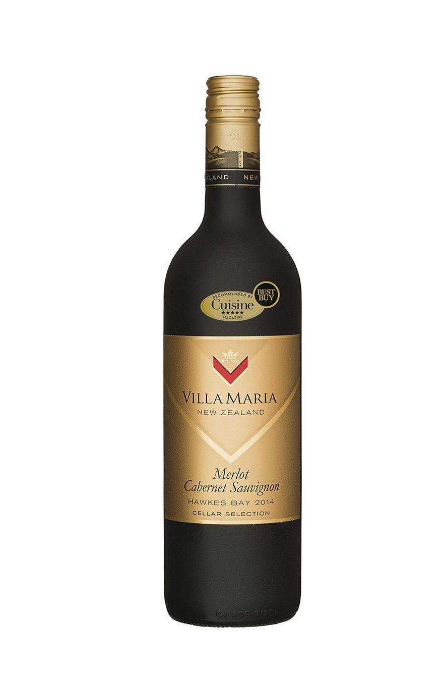 Villa Maria Cellar Selection Merlot Cabernet Sauvignon 2014