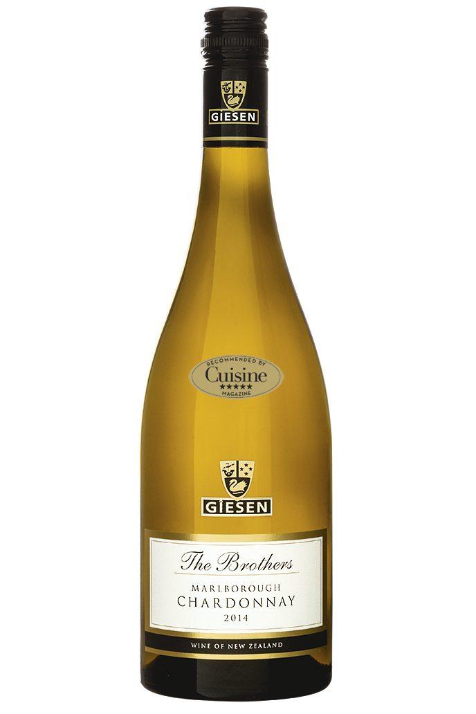 Giesen The Brothers Chardonnay  2014 (Marlborough)
