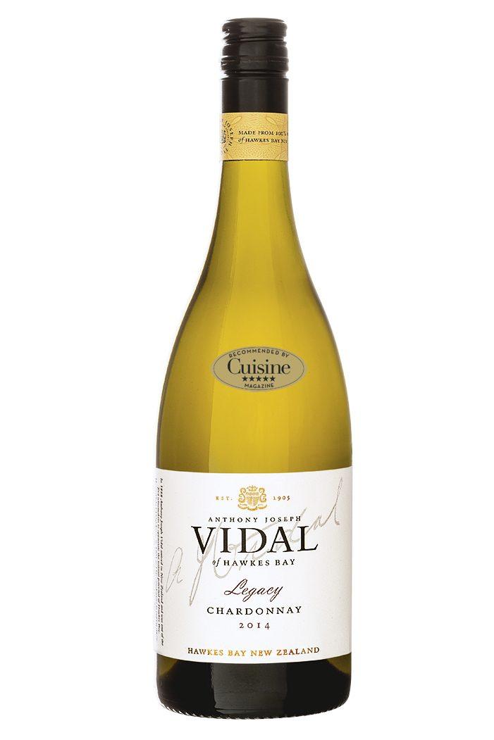 Vidal Legacy Chardonnay 2015  (Hawke's Bay)