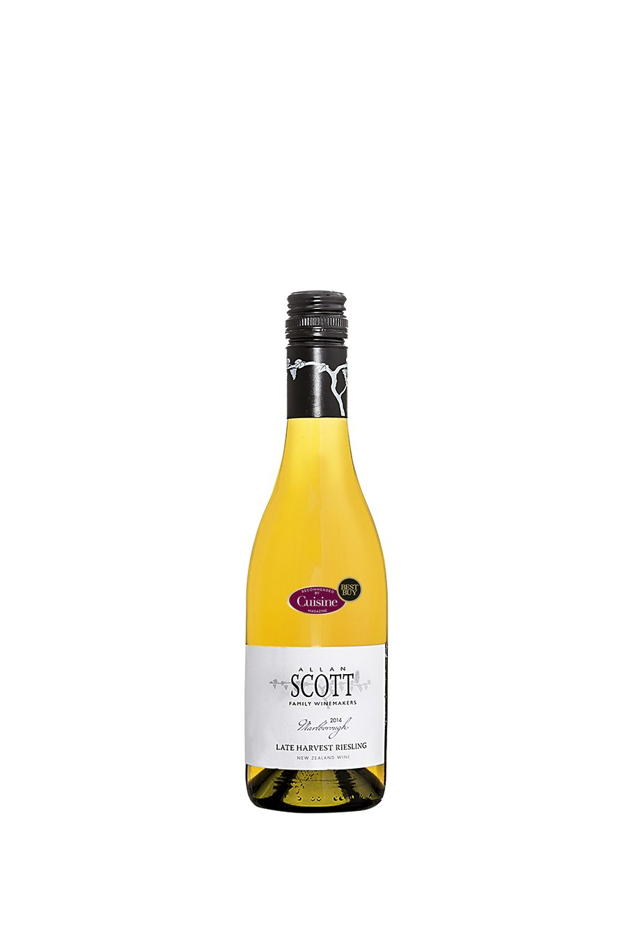 Allan Scott Marlborough  Late Harvest Riesling 2014