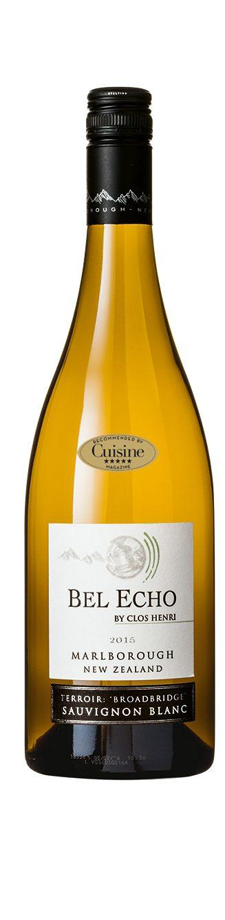 Bel Echo Sauvignon Blanc 2015 (Marlborough)