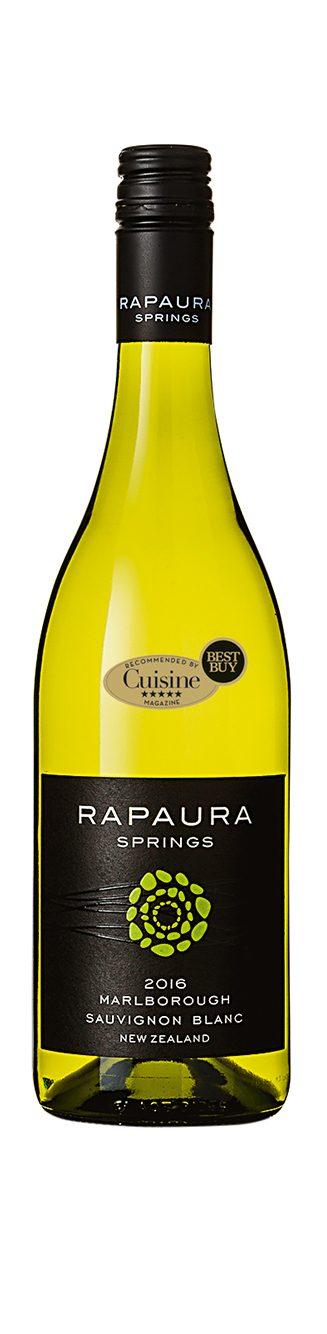 Rapaura Springs Marlborough Sauvignon Blanc 2016