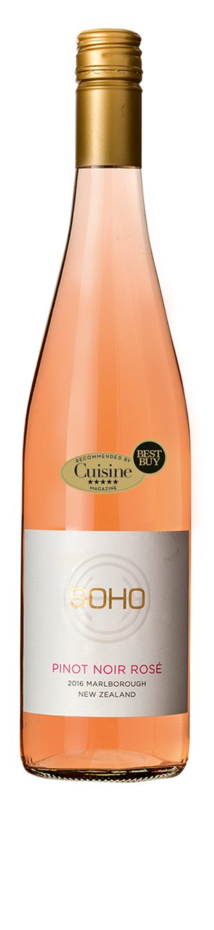 SOHO White Collection  Pinot Noir Rosé 2016