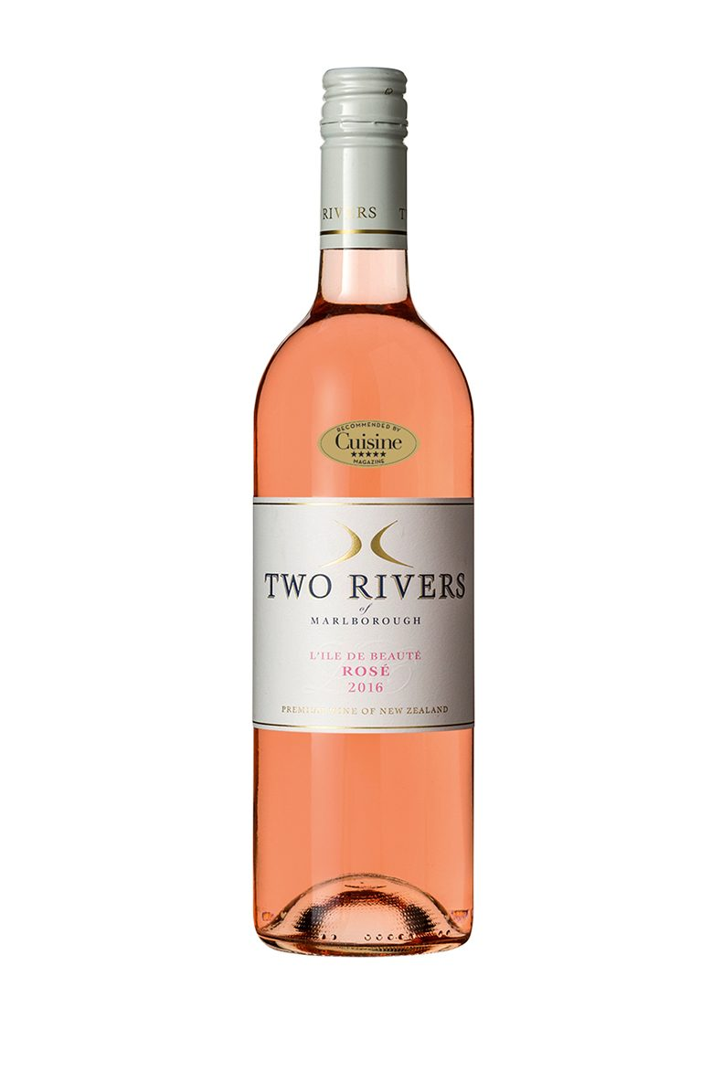 Two Rivers of Marlborough  L'Ile de Beauté Rosé 2016