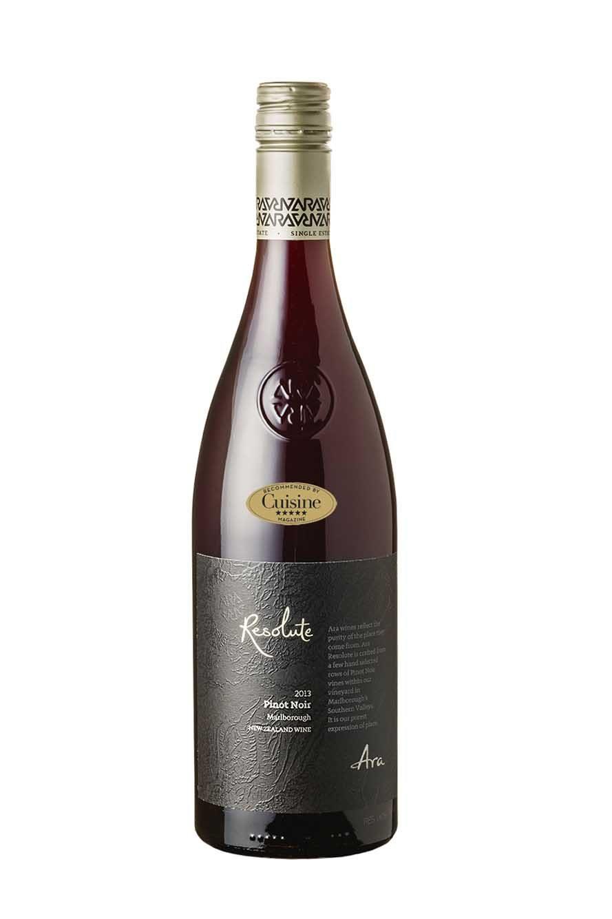 Ara Resolute Pinot Noir 2013 (Marlborough)