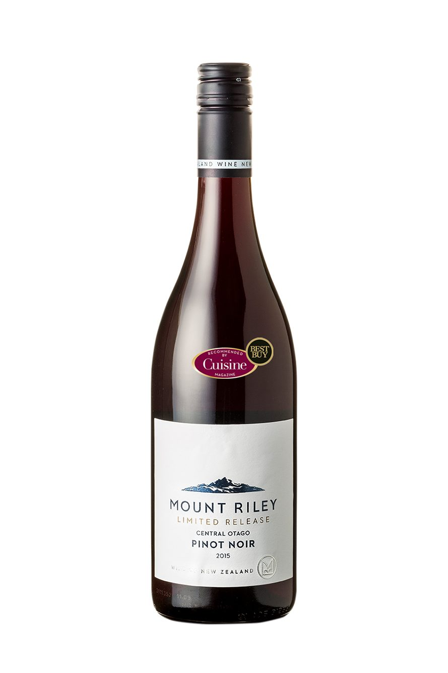 Mount Riley Limited Release Central Otago Pinot Noir 2015