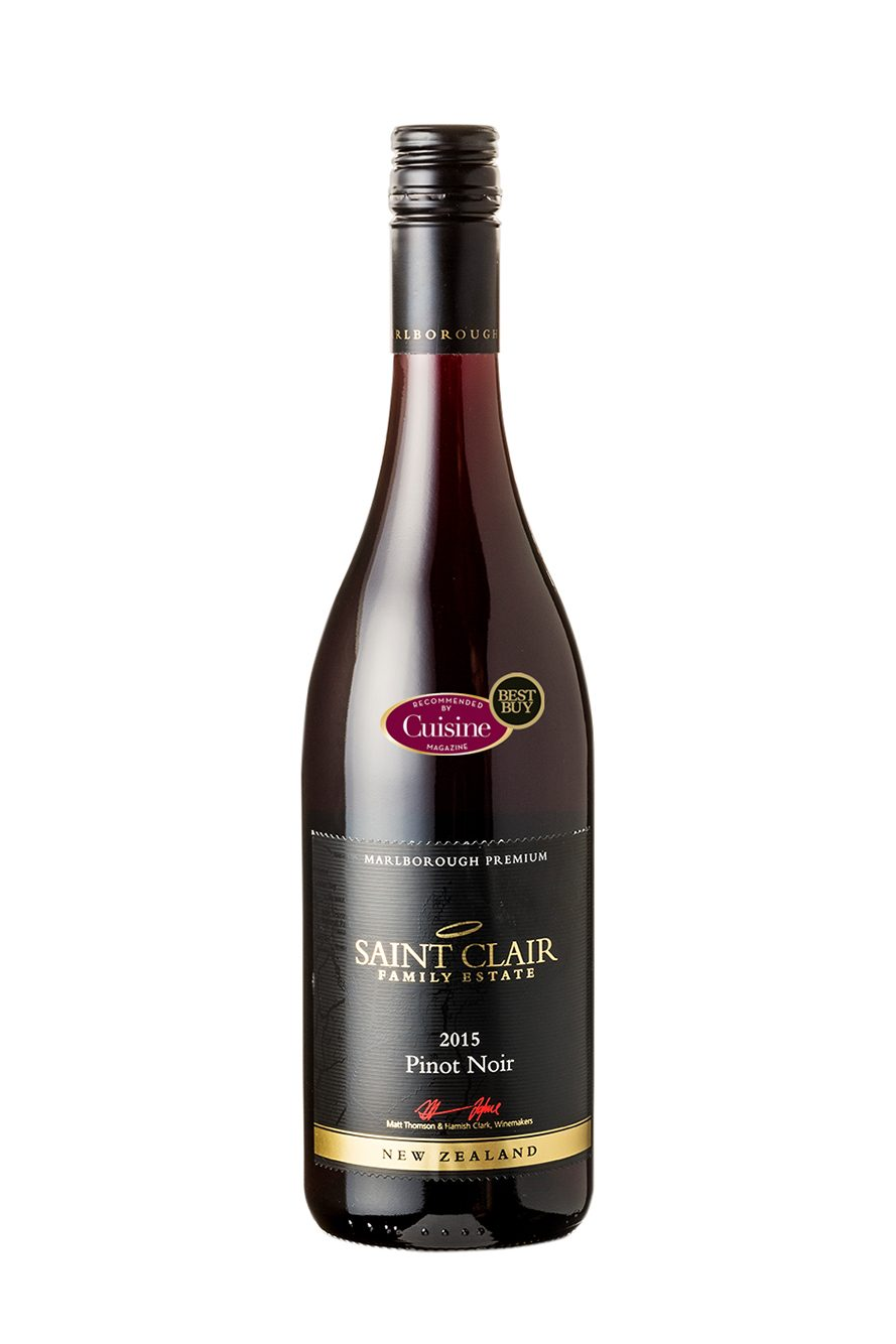 Saint Clair Marlborough Premium Pinot Noir 2015