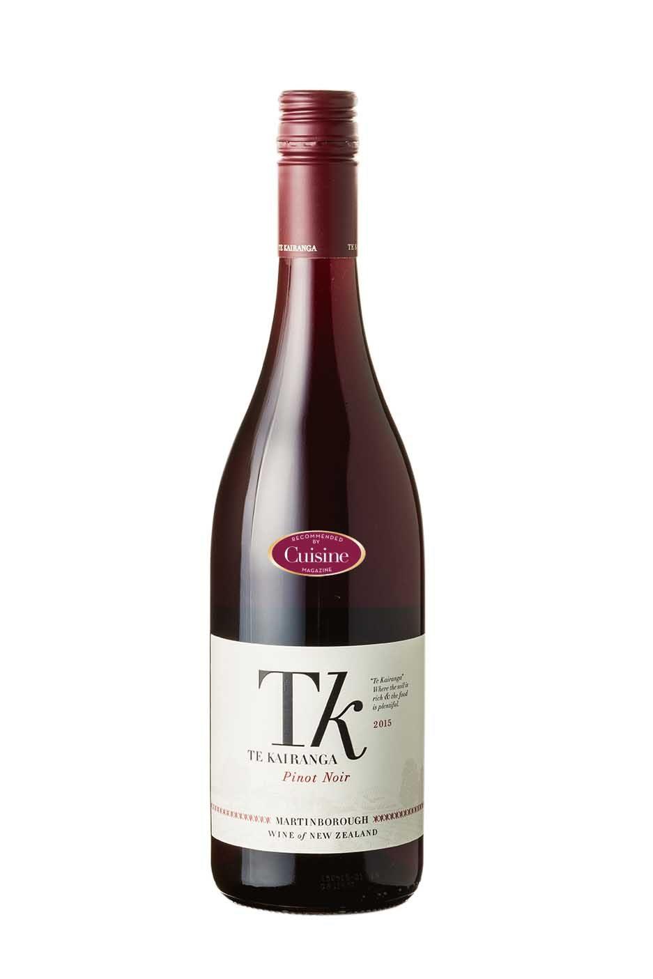 Te Kairanga Pinot Noir 2015 (Wairarapa)