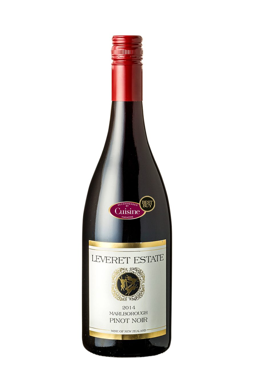 Leveret Estate Marlborough Pinot Noir 2014