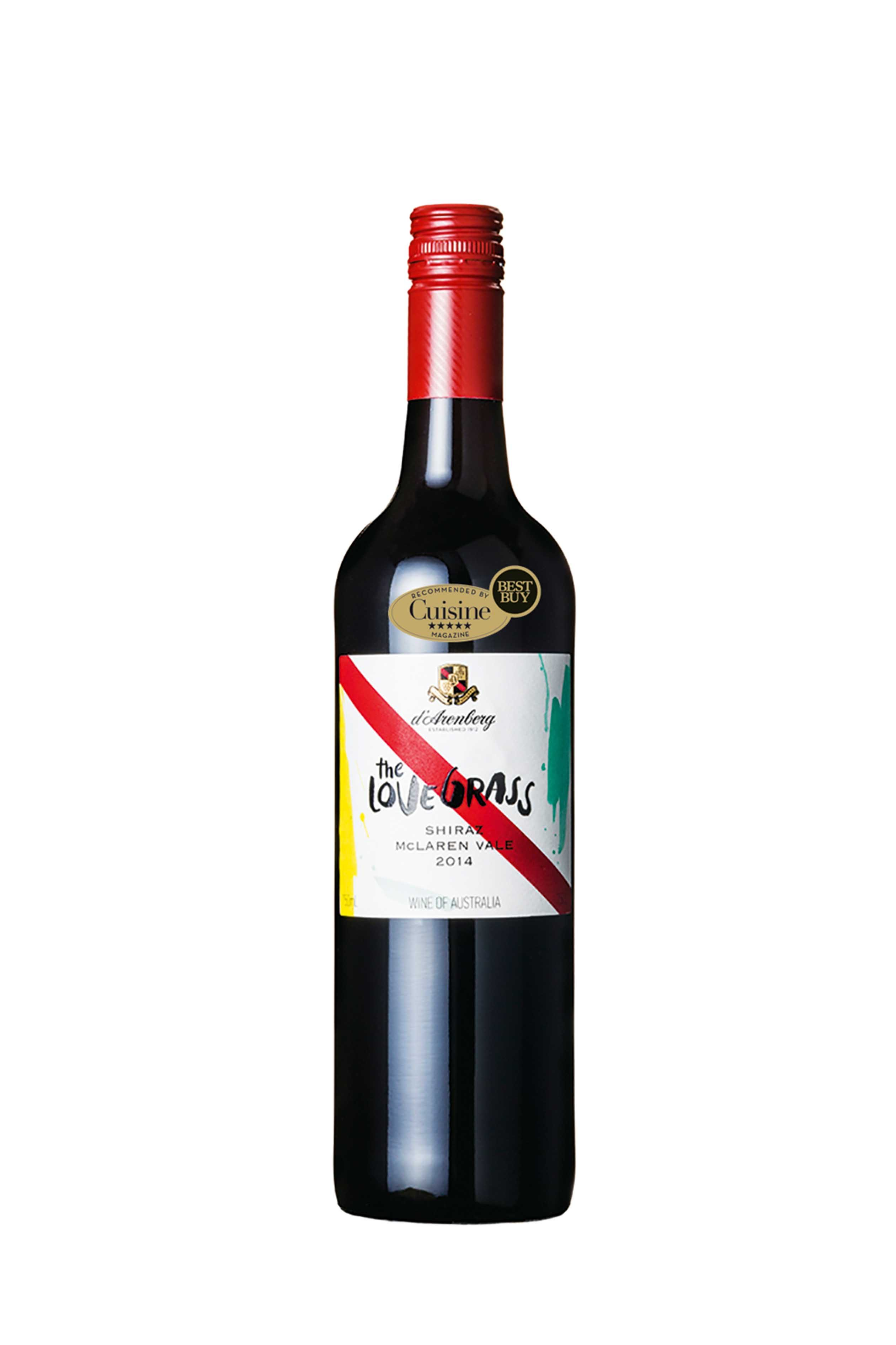d'Arenberg The Love Grass Shiraz