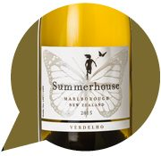 Summerhouse Marlborough Verdelho 2015 (5 stars, $22.90)