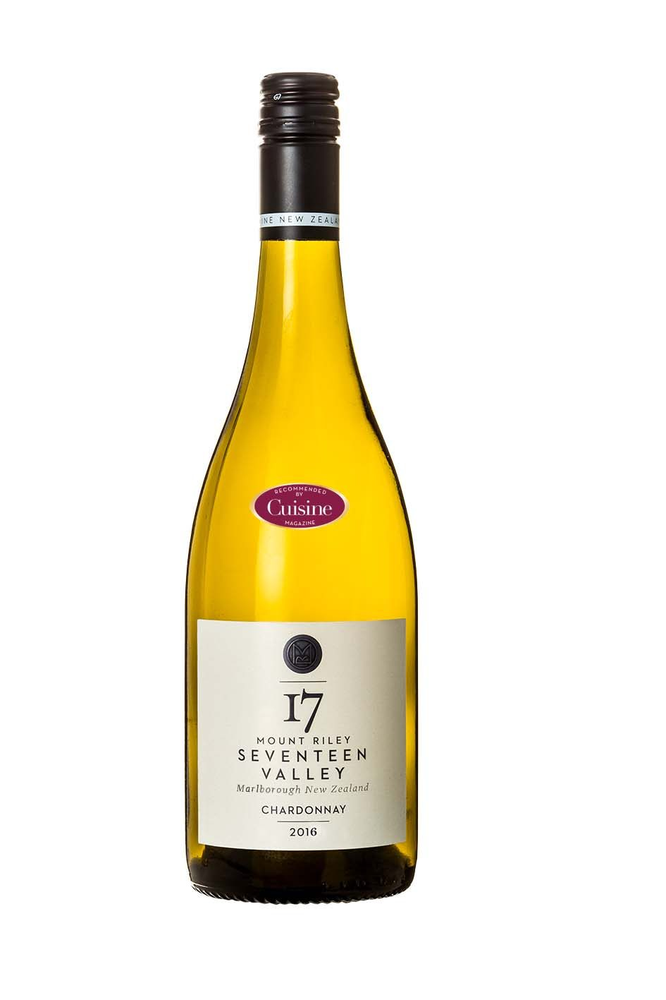 Mount Riley Seventeen Valley Chardonnay 2016