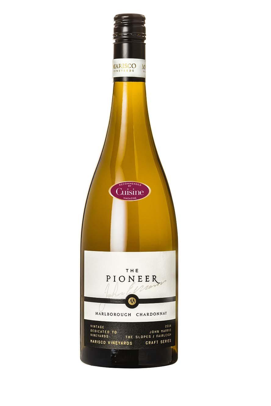 Marisco Vineyards Craft Series The Pioneer Chardonnay 2014