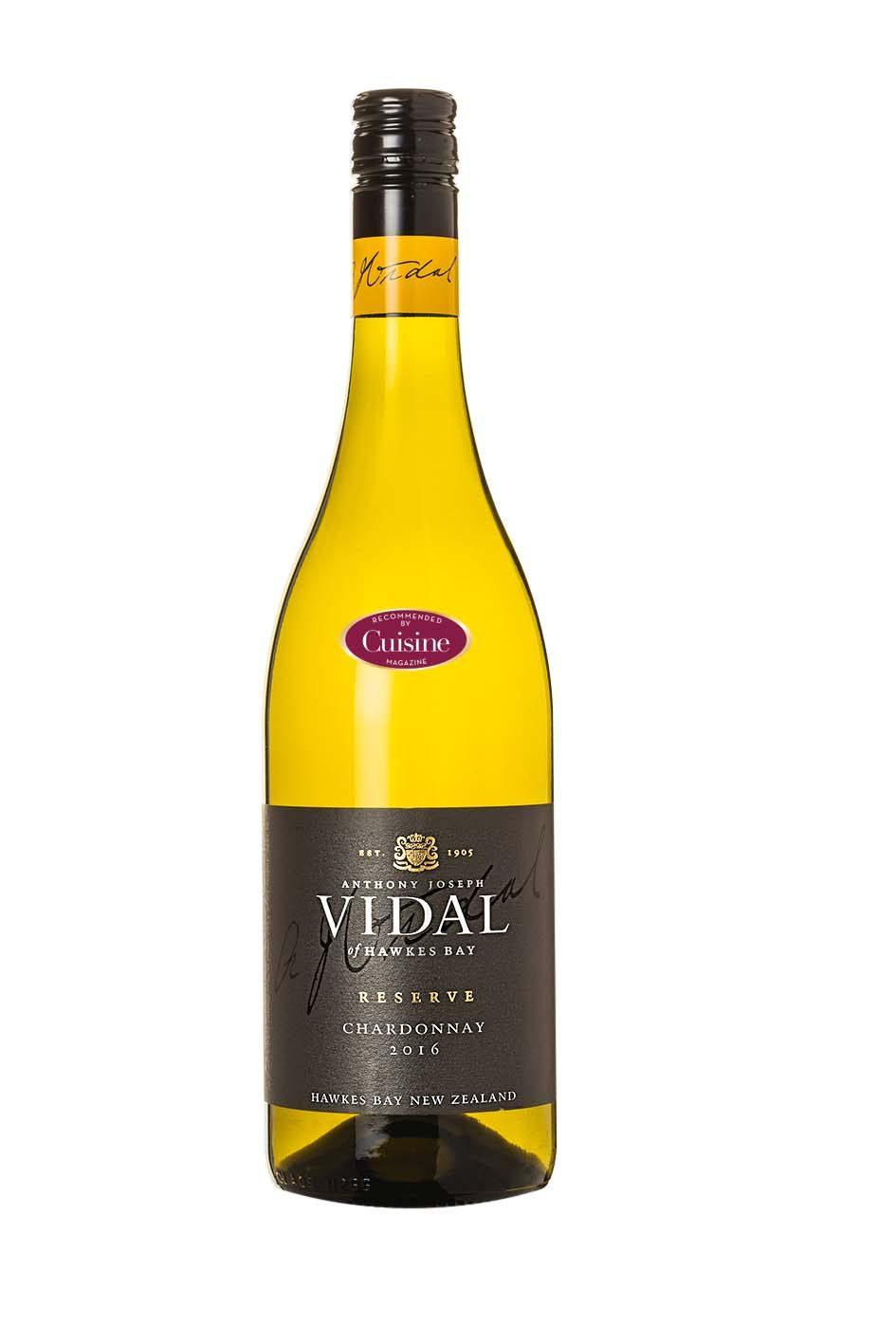 Vidal Reserve Chardonnay 2016