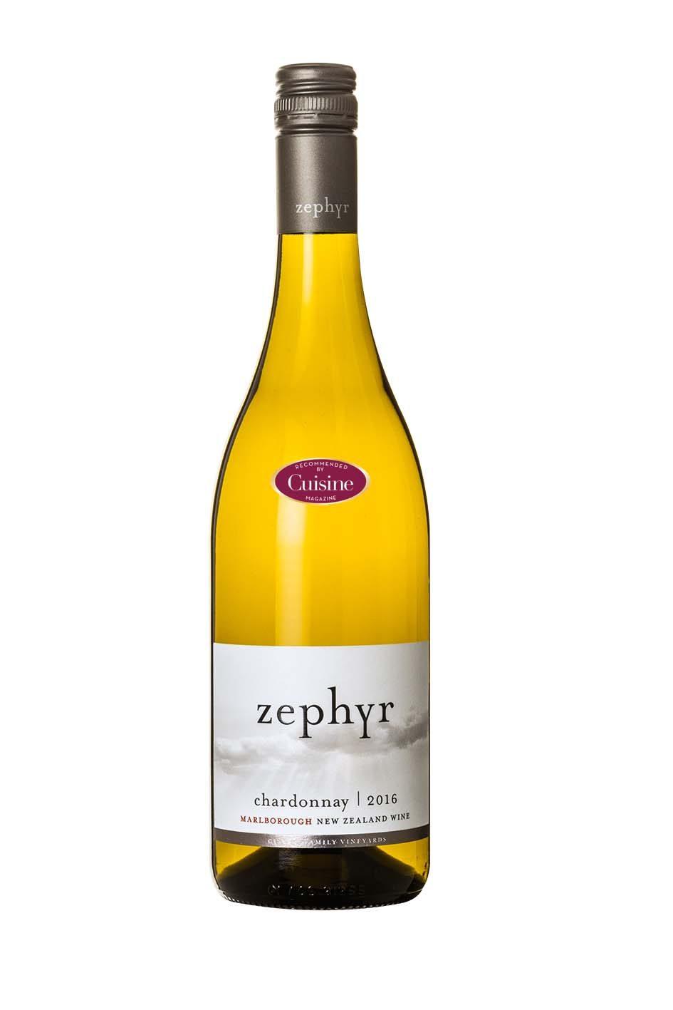 Zephyr Marlborough Chardonnay 2016