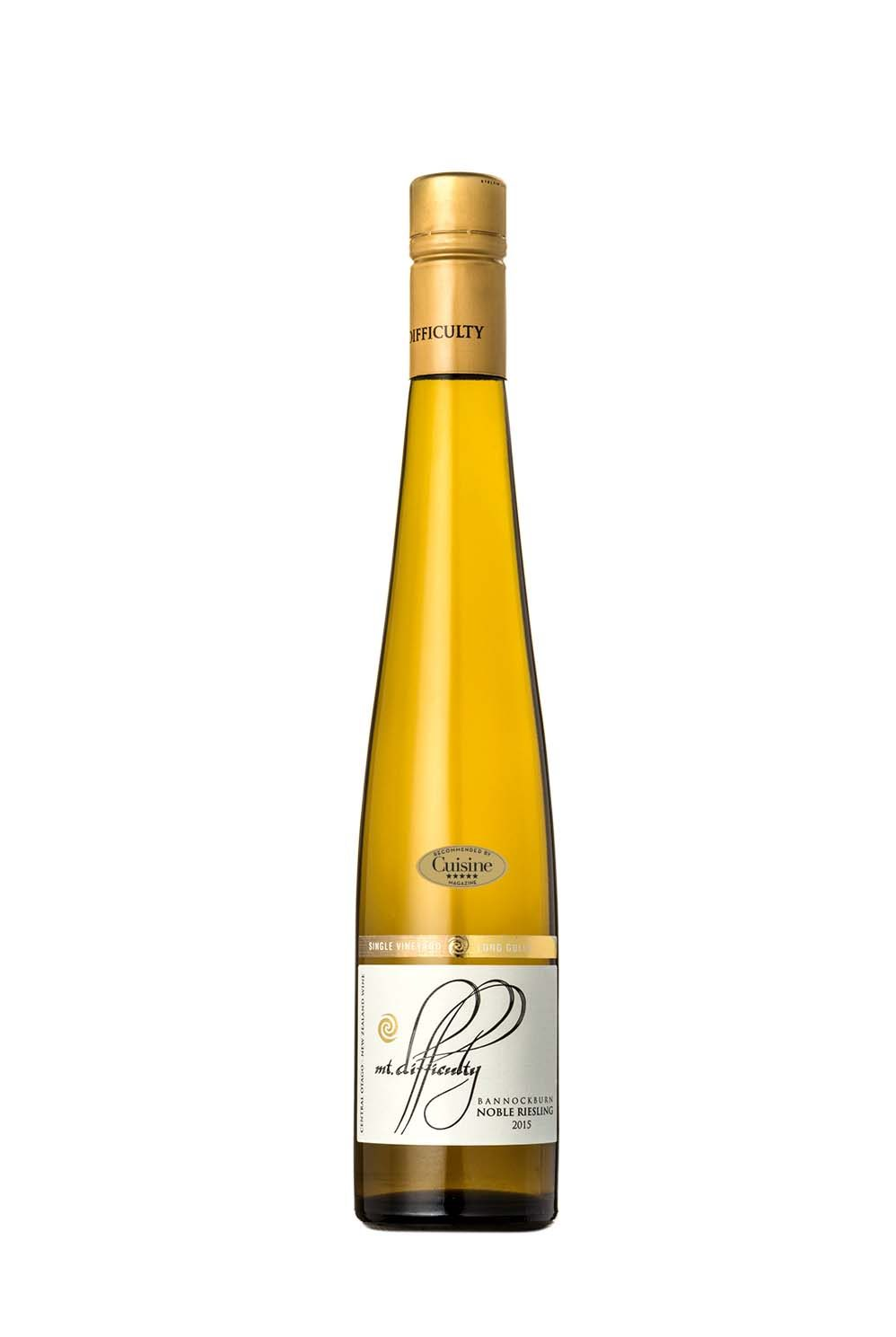 Mt Difficulty Single Vineyard Long Gully Noble Riesling 2015