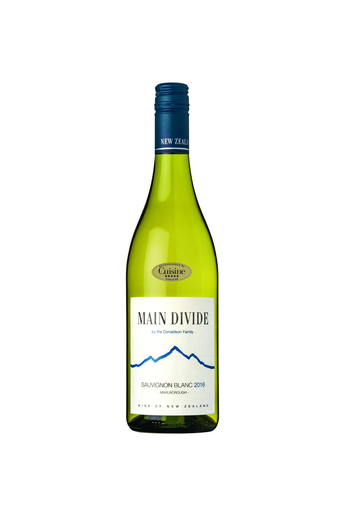 Main Divide Sauvignon Blanc 2016