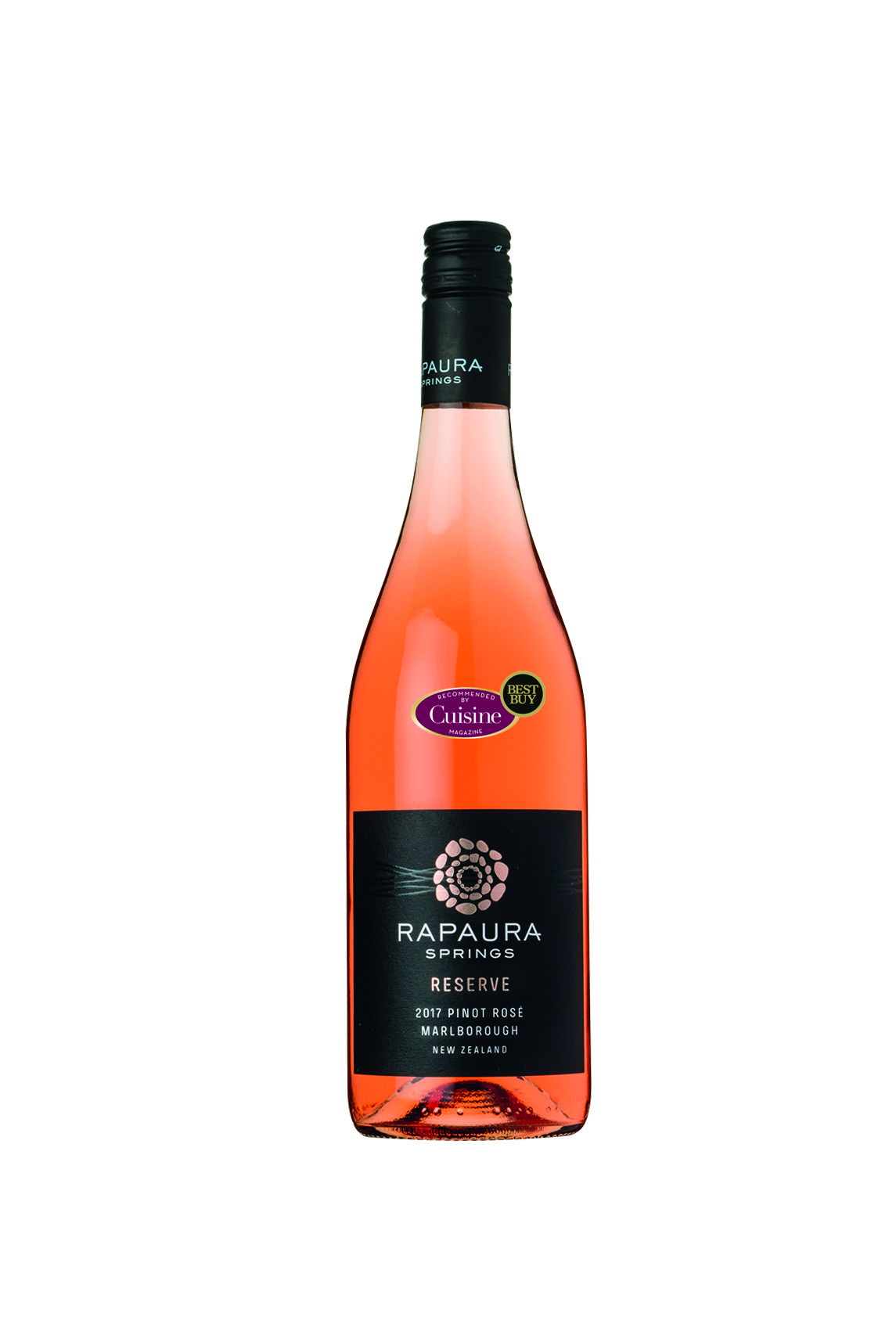Rapaura Springs Reserve Marlborough Pinot Rosé 2017