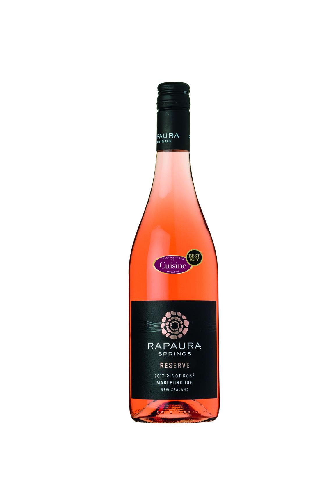 Rapaura Springs Reserve Marlborough Pinot Rosé 2017