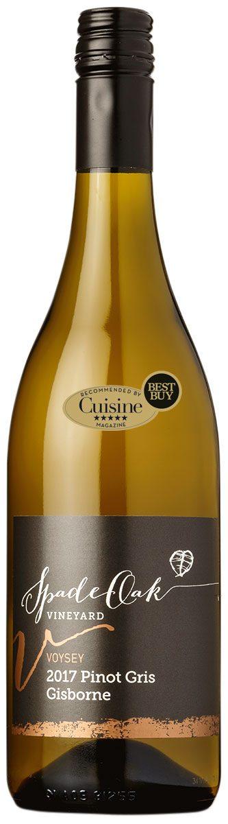 Spade Oak Voysey Gisborne Pinot Gris 2017