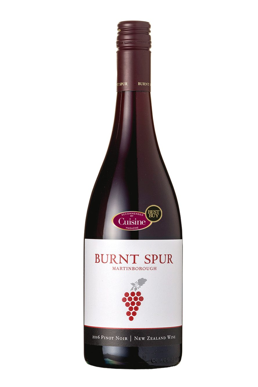 Burnt Spur Martinborough Pinot Noir 2016