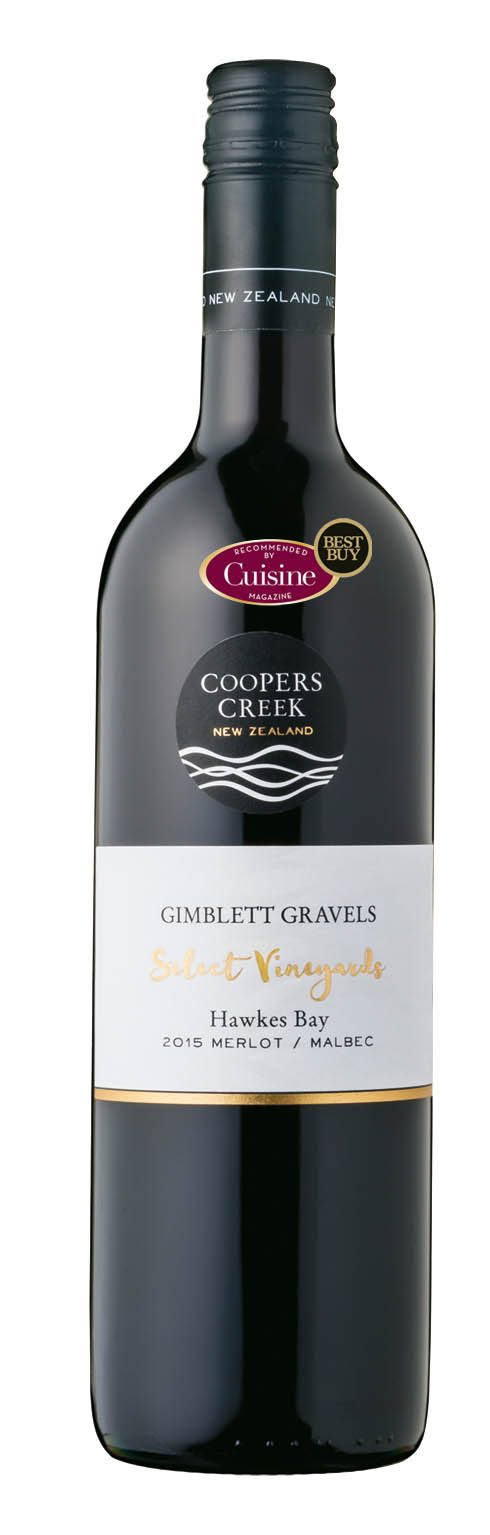 Coopers Creek SV Gimblett Gravels Merlot Malbec 2015 (Hawke's Bay)