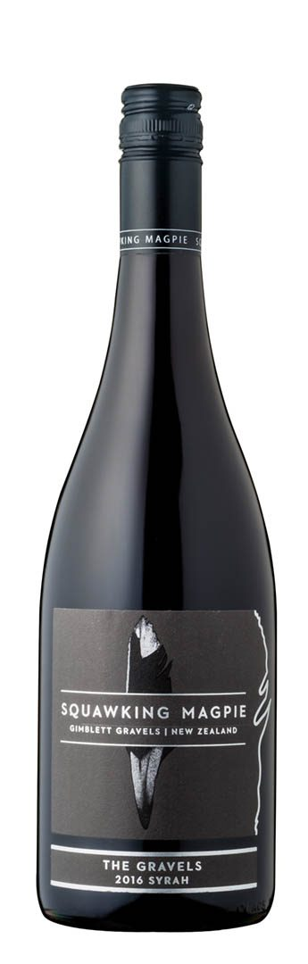 Squawking Magpie The Gravels Syrah 2016 (Hawke's Bay)